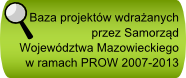 Baza projektów realizowanych w województwie mazowieckim